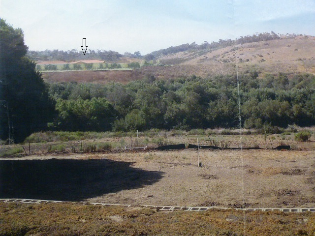 Development seen from Marron Adobe