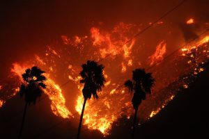 CA wildfires and climate change